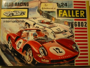 Faller Club Racing 6802 Lola T-70 Kit OVP