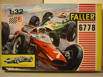 Faller Club Racing 6778 Kit Brabham BT3