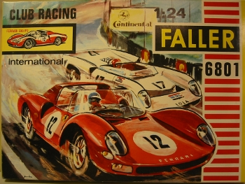 Faller Club Racing 6801 Ferrari 330/P2 Kit
